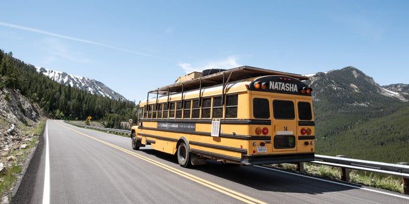 Brigade du voyage, un voyage en bus sur les côtes américaines