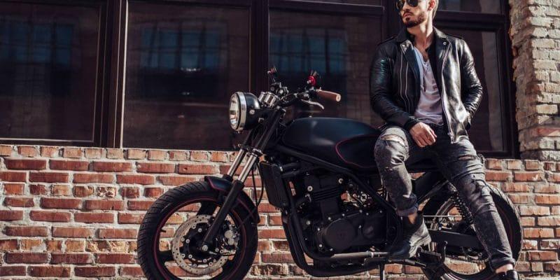 Comment être élégant en moto