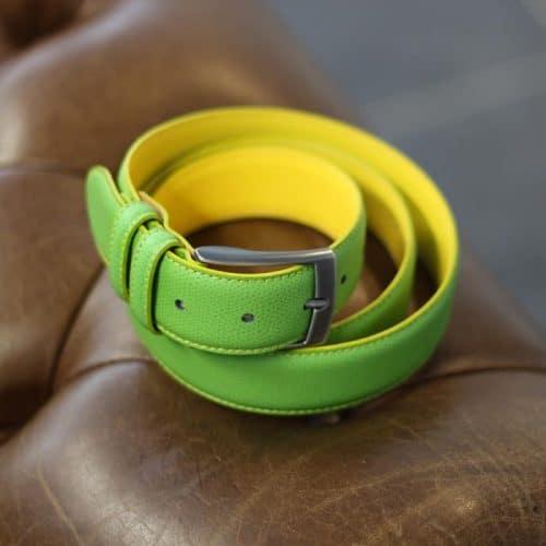ceinture réversible en cuir