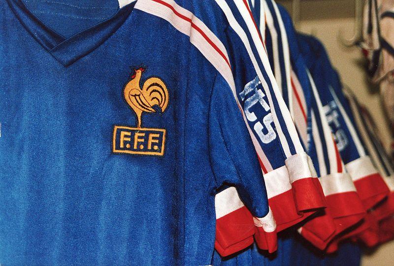 Maillot equipe de foot de France
