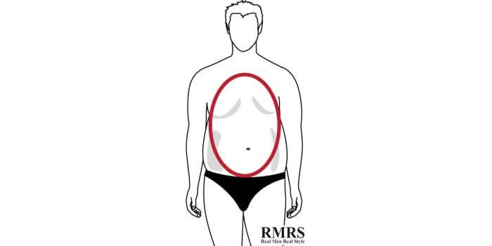 forme du corps ovale