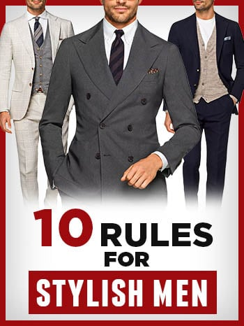 Règles de style des hommes
